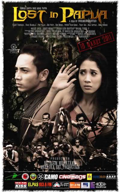Poster Film Lost in Papua