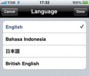 iPhone Languages Pack
