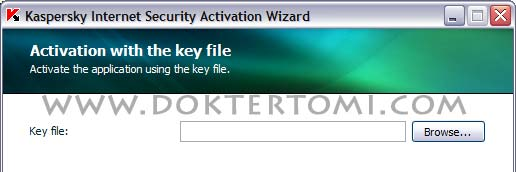 Kaspersky Activation Setting