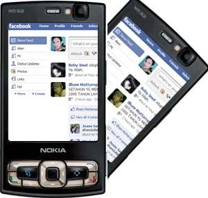 Facebook on N95