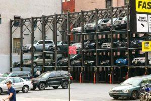 Tempat parkir di Manhattan